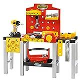 Jouets Ecoiffier – 2350 - Ensemble Établi modulable + outils pour enfants Mecanics – Jeu de bricolage – 32 pièces – Dès 18 mois – Fabriqué en France