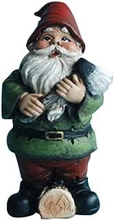 Hi-Line Gift Ltd Fairy Garden Gnome with an Axe