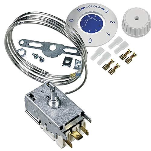 Atea Thermostat A13-0063, Kühlthermostat für Kühl-/Gefrierkombinationen passend Whirlpool 481927128854 A130063