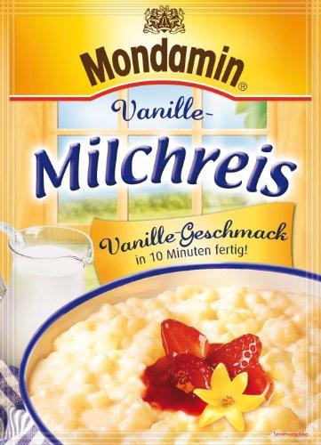 Mondamin Milchreis Vanille-Geschmack, 4er-Pack (4 x 500 ml)