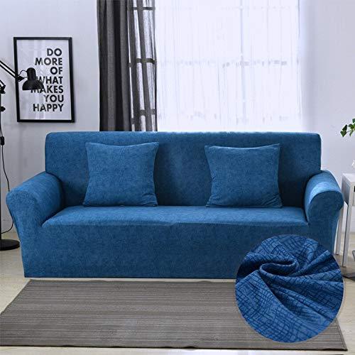 WXQY Funda de sofá elástica Moderna, Utilizada para la Funda Ajustada de la Sala de Estar, Funda de sofá con Todo Incluido, Funda Protectora de Muebles A1 2 plazas