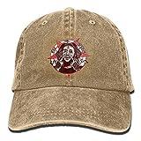 メンズ' sブラックアジャスタブルヴィンテージウォッシュデニム野球帽UICIDE-BOY FTPパパハットトラッカーキャップ