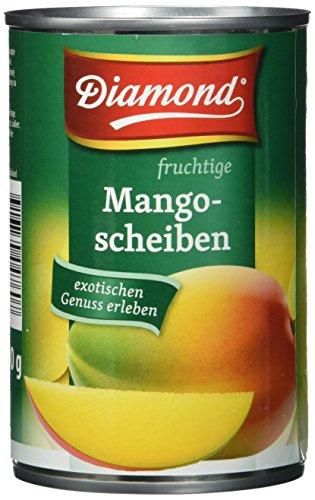 Diamond Mangofrüchte in Scheiben, leicht gezuckert, 12er Pack (12 x 425 g Packung)