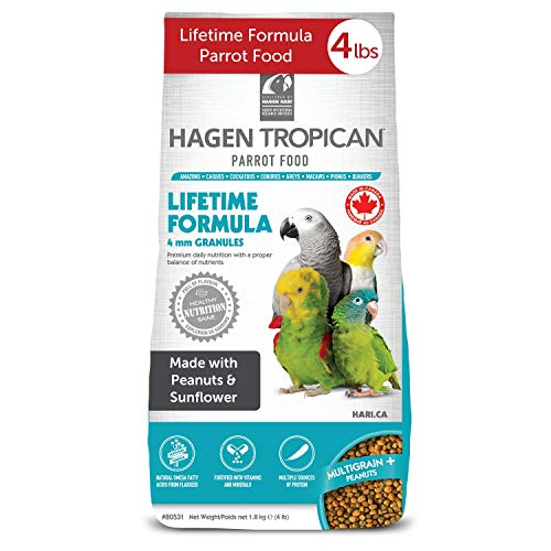 HARI - Mangime per pappagalli - Lifetime Formula Mantenimento 4mm - 1800gr