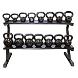 Troy VTX Kettlebell Sets with Storage Rack - 380 lb