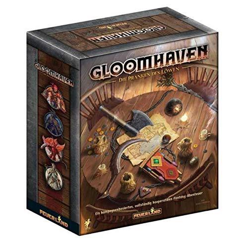 Gloomhaven - Die Pranken des Löwen, Brettspiel (DE), für 1-4 Spieler, ab 14 Jahren