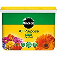Miracle Gro Purpose Soluble Plant Food