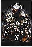 ZRRTTG GemäLde Auf Leinwand Fußball Pittsburgh Steelers
