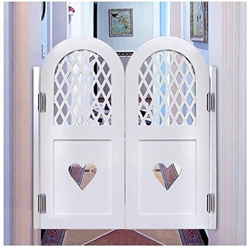 Cafe Türen/Massivholz/Swinging Doors/Cafe Türen, Holzhauptdekoration Bildschirm Tür Küche, Scharniere inklusive, 23 Größe, Unterstützt Individuell (Farbe: A, Größe: 75x60cm) / Saloon Swing Bar P