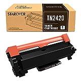 STAROVER TN-2420 TN2420 TN2410 Cartucho Toner Compatible para Brother MFC-L2710DN MFC-L2710DW MFC-L2730DW MFC-L2750DW DCP-L2550DN DCP-L2530DW DCP-L2510D HL-L2375DW HL-L2370DN HL-L2350DW