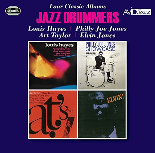 Jazz Drummers: Louis Hayes / Showcase / A.T.'S Delight / Elvin!