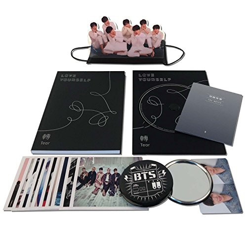 LOVE YOURSELF 轉 TEAR [ R ver. ] BTS 3rd Album CD + Photobook + Mini Book + Photocard + Standing Photo + Folded Poster + F.G