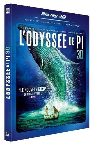 L'Odyssée de Pi [Combo 3D + Blu-Ray + DVD]
