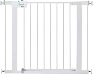 Safety 1st Easy Install Metal Baby Gate with Pressure Mount Fastening (White), Pack of 1