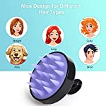 Beauty Shopping Hair Shampoo Brush, Heeta Scalp Care Hair Brush with Soft Silicone