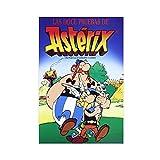 NHYTR Anime Asterix 10 Leinwand-Poster, Schlafzimmer,