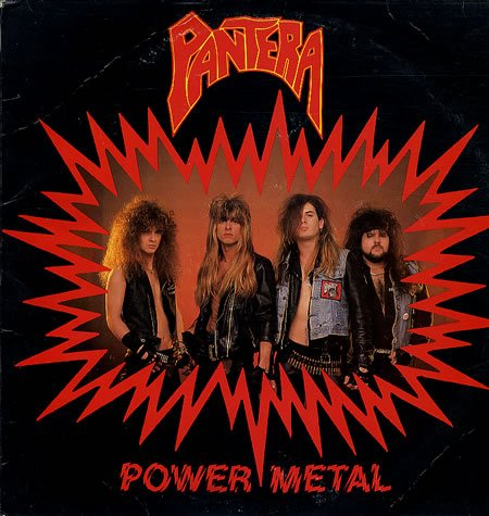 Pantera Power Metal 1988 USA vinyl LP MMR-1988