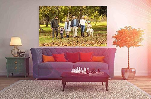 pequeño y compacto Oedim Impresión digital Impresión en lienzo Pedido |  Multicolor |  135 x 60 cm |… Mesa