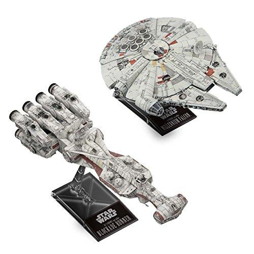 Bandai Hobby Star Wars Blockade Runner 1/1000 & Millennium Falcon 1/350 'Star Wars