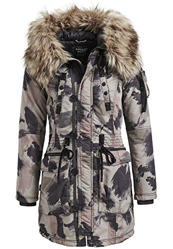 khujo Halle (HG+HI) Jacket 1111CO173-HI2 Damenjacke Camoflage Pattern Gr. M