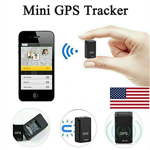 Magnetic GF07 Mini GPS Real Time Car Locator Tracker GSM/GPRS Tracking Device US