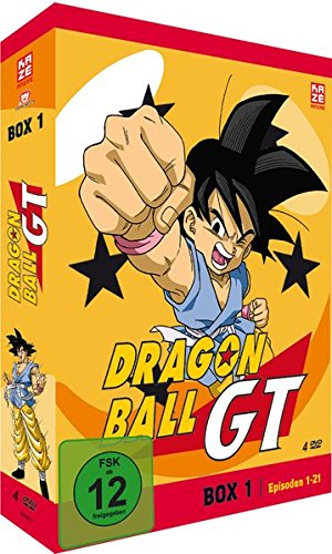 Dragonball GT - Box 1/Episode 1-21 (4 DVDs)
