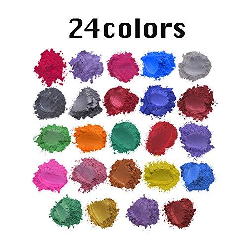 Epoxyhars kleur metallic, zeepverf set, kleur pigmenten Mica poeder voor zeep epoxyhars epoxy hars giethars hars