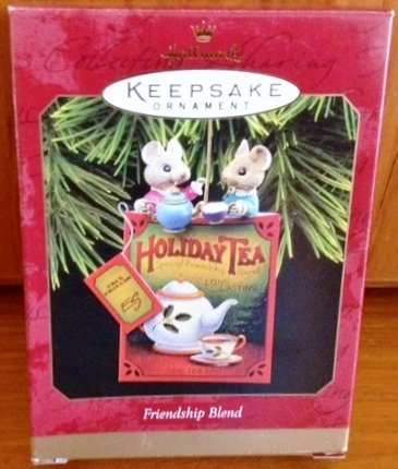 Hallmark Keepsake Ornament Holiday Tea - Friendship Blend