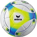 Erima Unisex– Erwachsene Hybrid Lite 290 Fußball, neon gelb/blau, 4