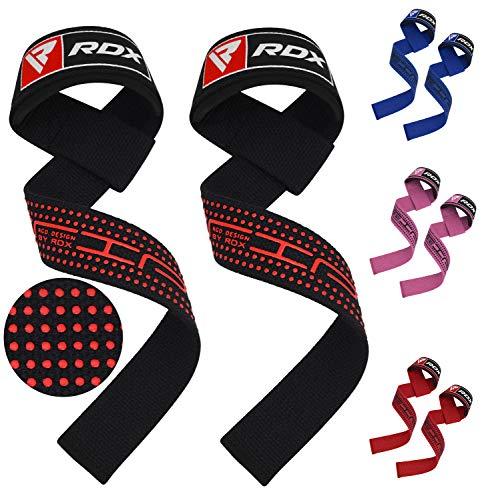 RDX Fasce Polsi Cinghie Sollevamento Pesi Fitness Peso Polsiere Bande Palestra Supporto Professionali Allenamento Bodybuilding Forza Powerlifting Polso