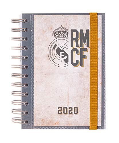 ERIK - Agenda anual 2020 Real Madrid, día página (11,4x16...