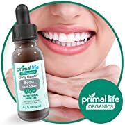 Primal Life Organics   Dirty Mouth Gum Serum   Fight Bad Breath, Clean Gum Tissue, and Ensure Good Oral Hygiene   Made with Natural Essential Oils   0.5 Fluid Ounces