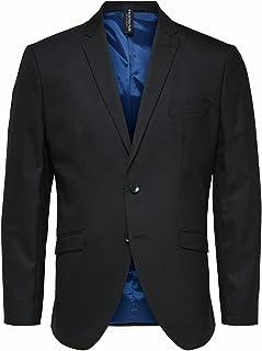 Selected Men's Slhslim-mylostate Black BLZ B Noos Blazer