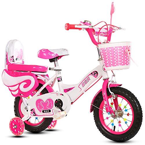 ZISITA Bicicleta Infantil Niño,Bicicleta de niño de la Muchacha del Estilo Libre del Muchacho de 12
