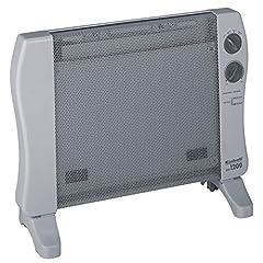 Einhell ogrzewanie fali cieplnej WW 1200 (230 V, 1200 W max., wysokiej jakości element grzejny Mica, nieskończenie zmienny regulator termostatu, 3 etapy grzewcze, zabezpieczenie przed nachyleniem)