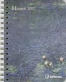 Monet Buchkalender 2017: Kunstkalender - Wochenüberischt