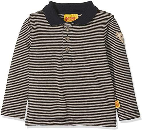 Steiff Steiff Baby-Jungen 1/1 Arm Poloshirt, Blau (Marine|Blue 3032), 62