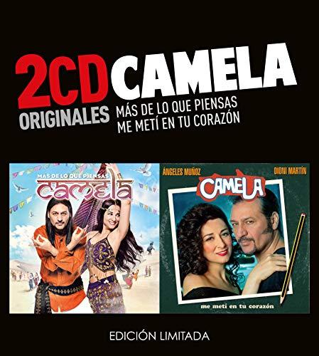 Camela -Mas De Lo Que Piensas  /  Me Metí En Tu Corazón  (2 CD)