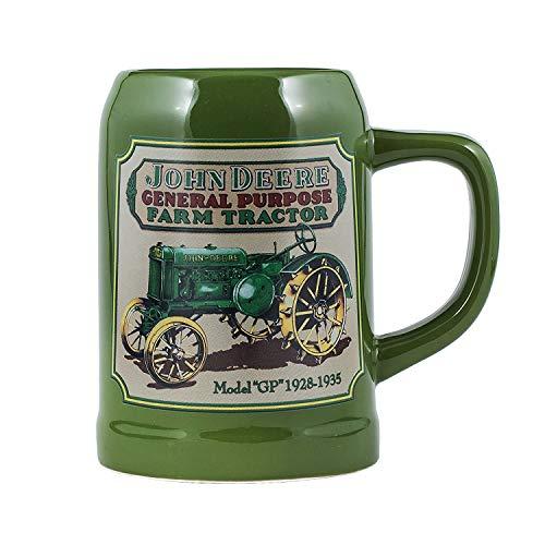 John Deere Licensed Green Tractor 17 Ounce Ceramic Stoneware Coffee Mug