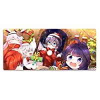 Benghuai AcademyマウスパッドYae Sakuraテーブルマットゲームオフィスキーボードパッド-W-1_1000x500x3mm