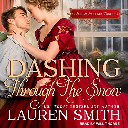 Dashing Through the Snow audiobook cover art