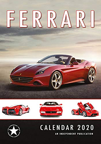 Ferrari Calendar - 2019 - 2020 Wall Calendars - Sports Car Calendars - Poster Wall Calendars - 12 Month Calendar by Dream (Multilingual Edition)