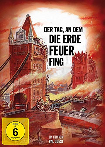 Der Tag, an dem die Erde Feuer fing - Special Edition Mediabook (+ DVD) (+ Booklet) (Filmjuwelen) [Blu-ray]