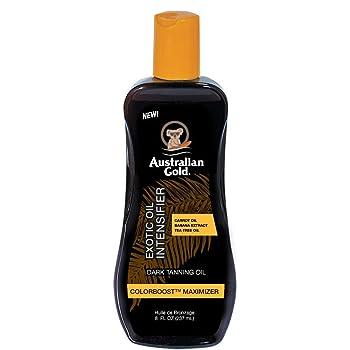 Australian Gold Dark Tanning Exotic Oil Spray, 8 Ounce | Carrot Extract Formula