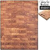 Daddy Chef End Grain Wood cutting board - Wood Chopping block - Large...