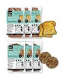 BenFit Vollkorn glutenfrei Mix-Paket – glutenfreies Eiweiß-Brot und Toast – ideal für eine eiweißreiche, fettarme und kalorienreduziert