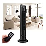 40' LCD Tower Fan Digital Control Oscillating Cooling Air Conditioner Bladeless (Tower Fan)