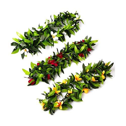 50x artificielle rouge HOLLY BAIES /& fleur verte feuilles Guirlande Couronne Home Decor