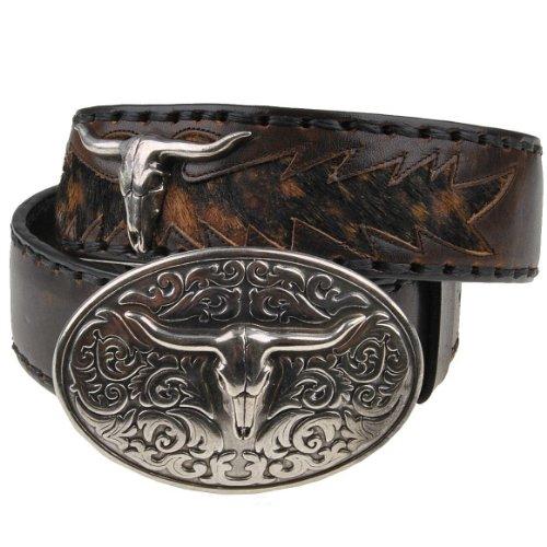 Sendra ceinture vache inscription personnaliseable 584 marron - Marron - 100