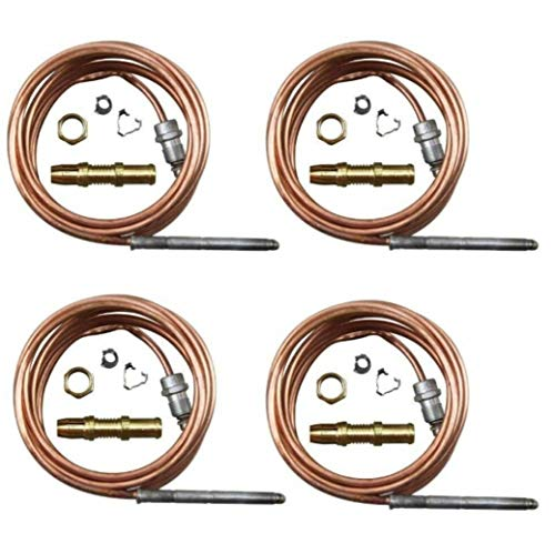 4 Pack 72' Thermocouple Replaces Garland 1920401 Bakers Pride M1296X M1296A